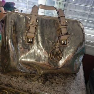Michael kors grayson satchel purse